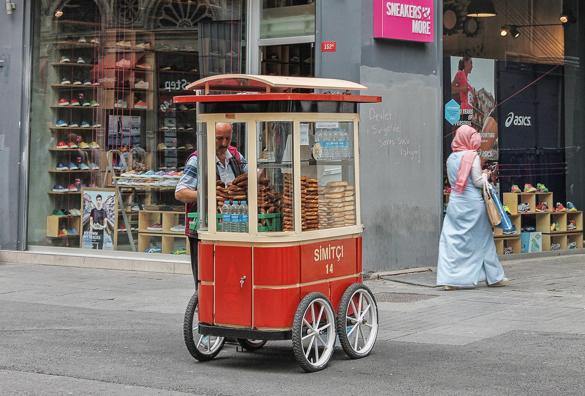 Живой, колоритный Стамбул. - Анатолий Щербак
