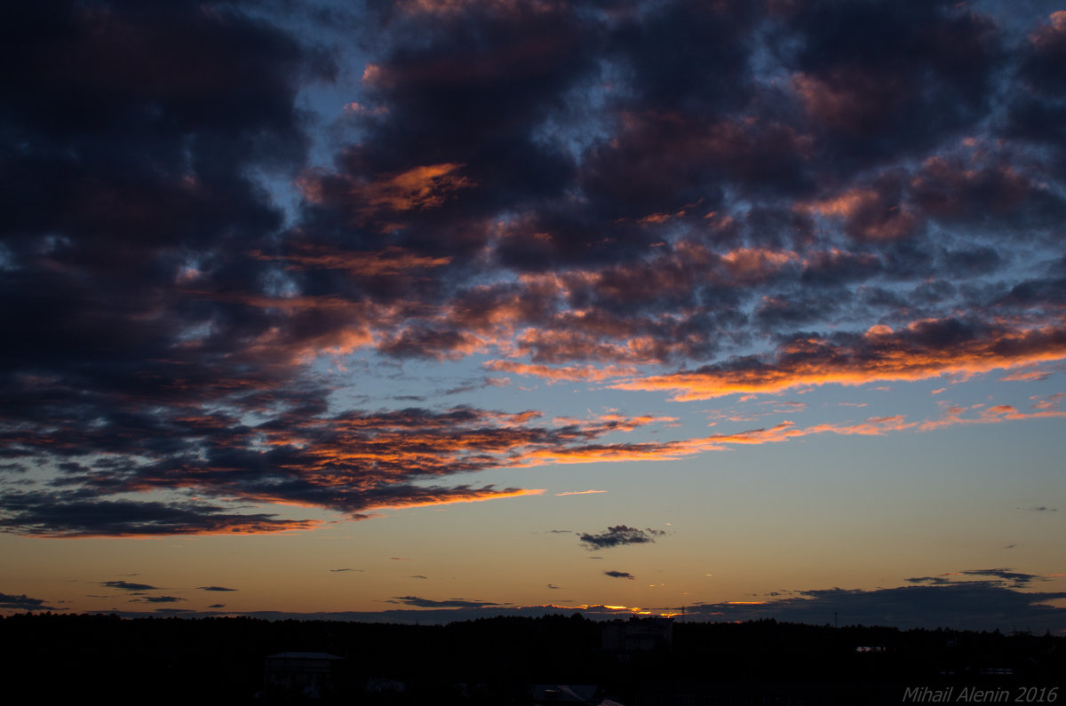 Закат 31 августа 2016 - Михаил Аленин