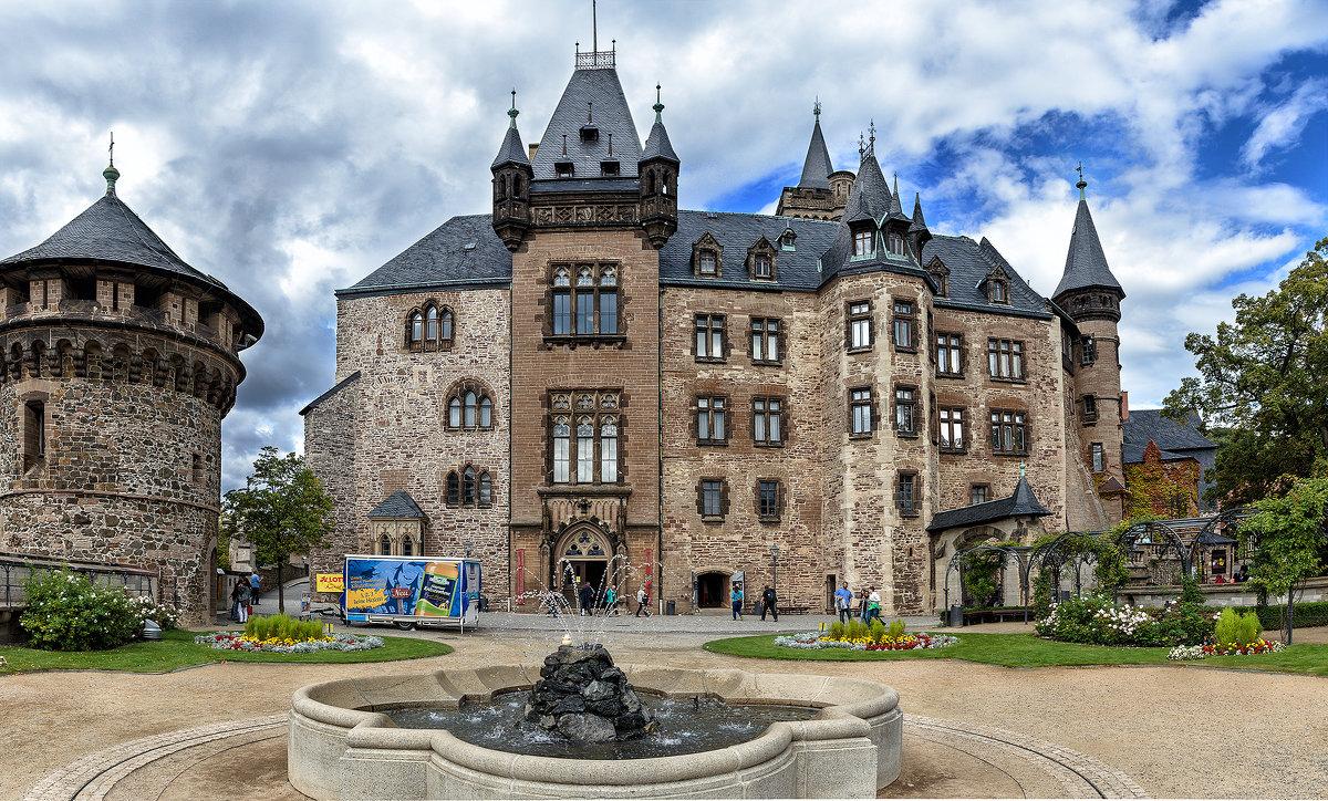 Замок Wernigerode,Harz - Сергей Бордюков