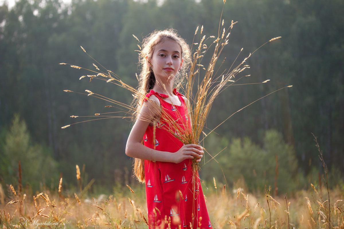 На лугу - Наталья Мячикова