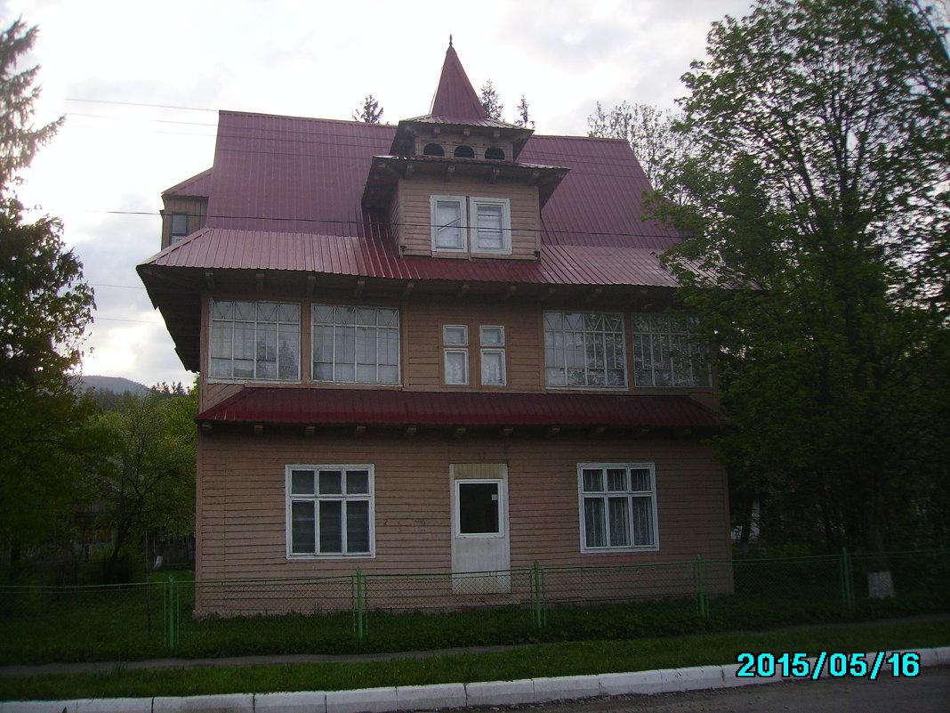 Жилой   дом   в   Ворохте - Андрей  Васильевич Коляскин