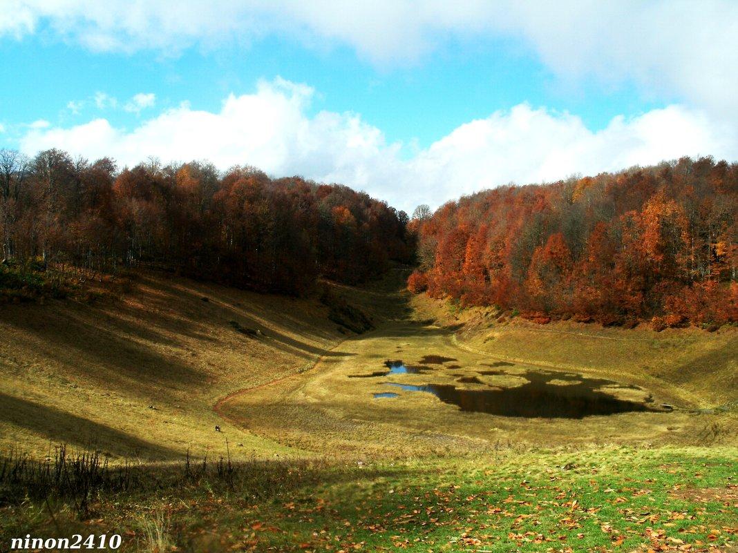Горное озеро - Нина Бутко