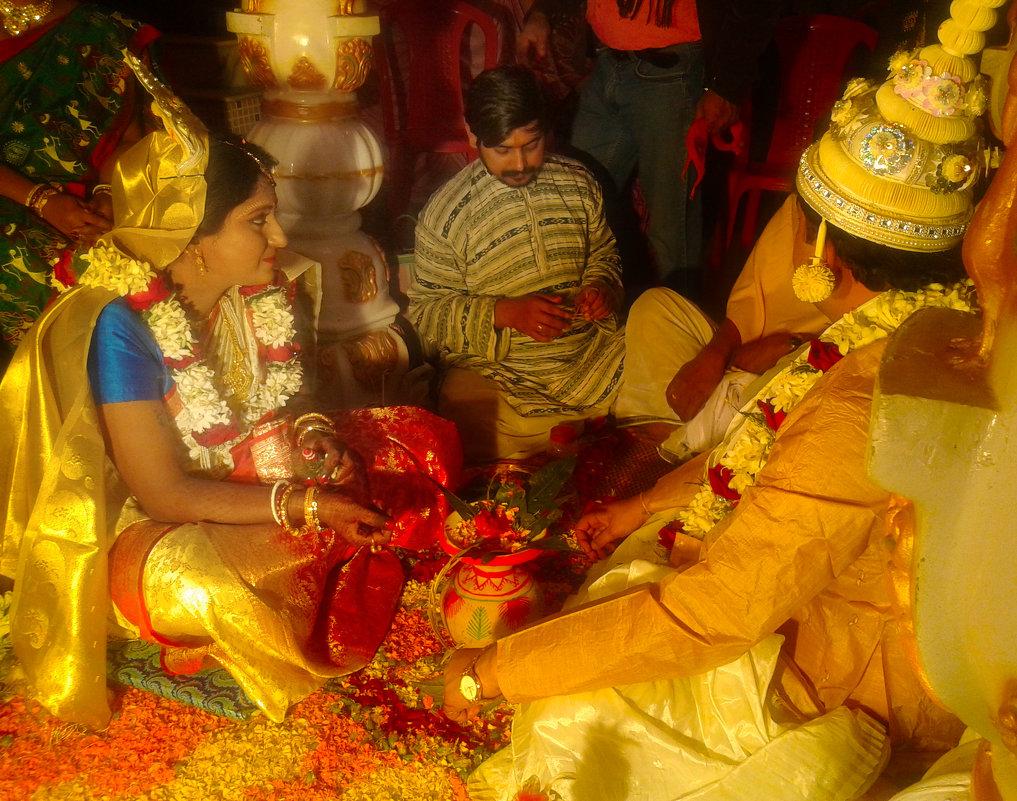 Индийская свадьба - Тарун Дас