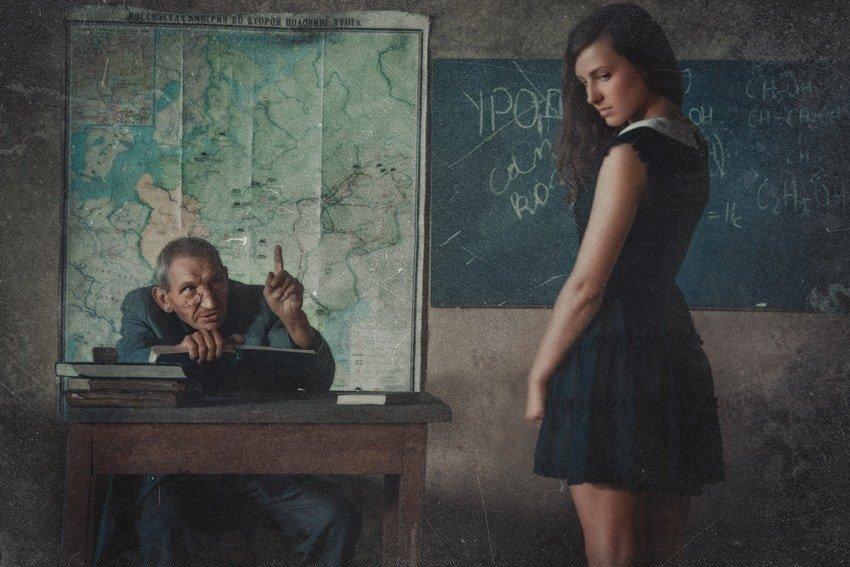 нежности с училками