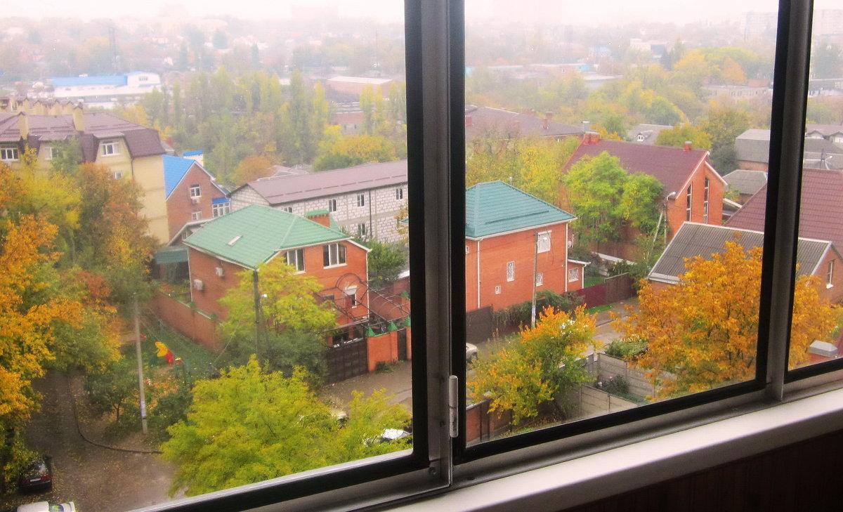 За окнами осень и дождливая погода - татьяна