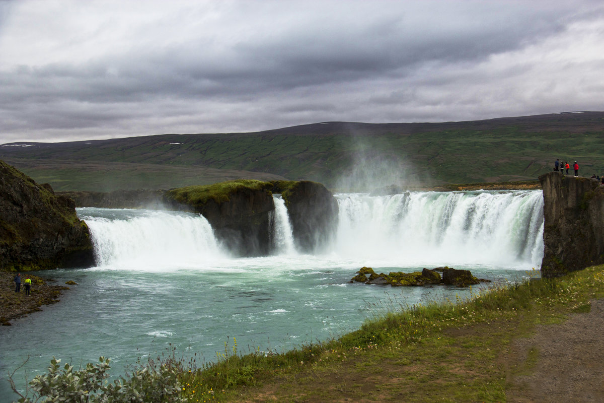 waterfall Godafoss - klara Нейкова