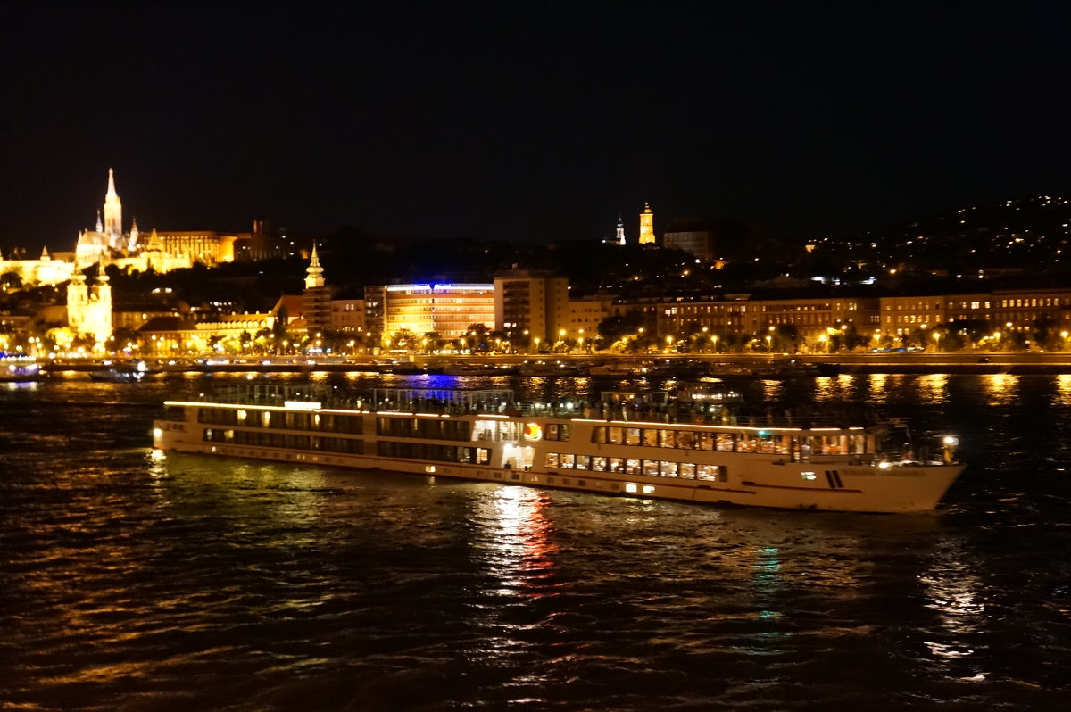 Ночные катания по Дунаю .... - Алёна Савина