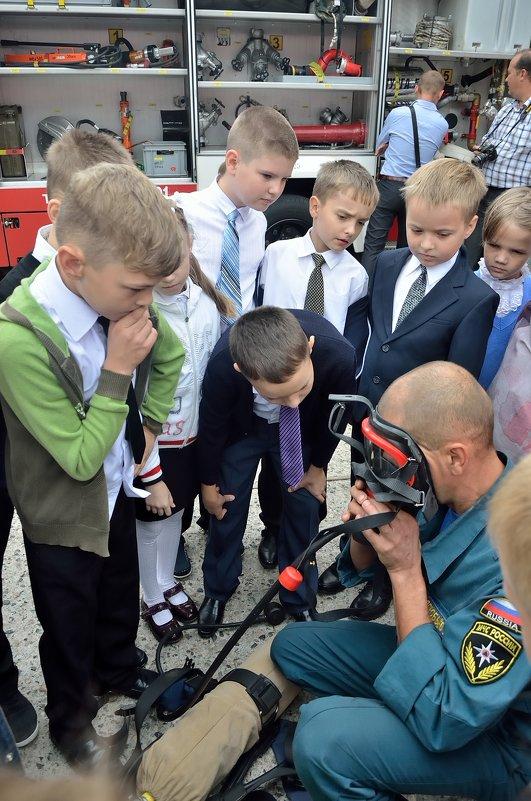 профессия пожарный... Классный час 1 сентября - Мария Климова