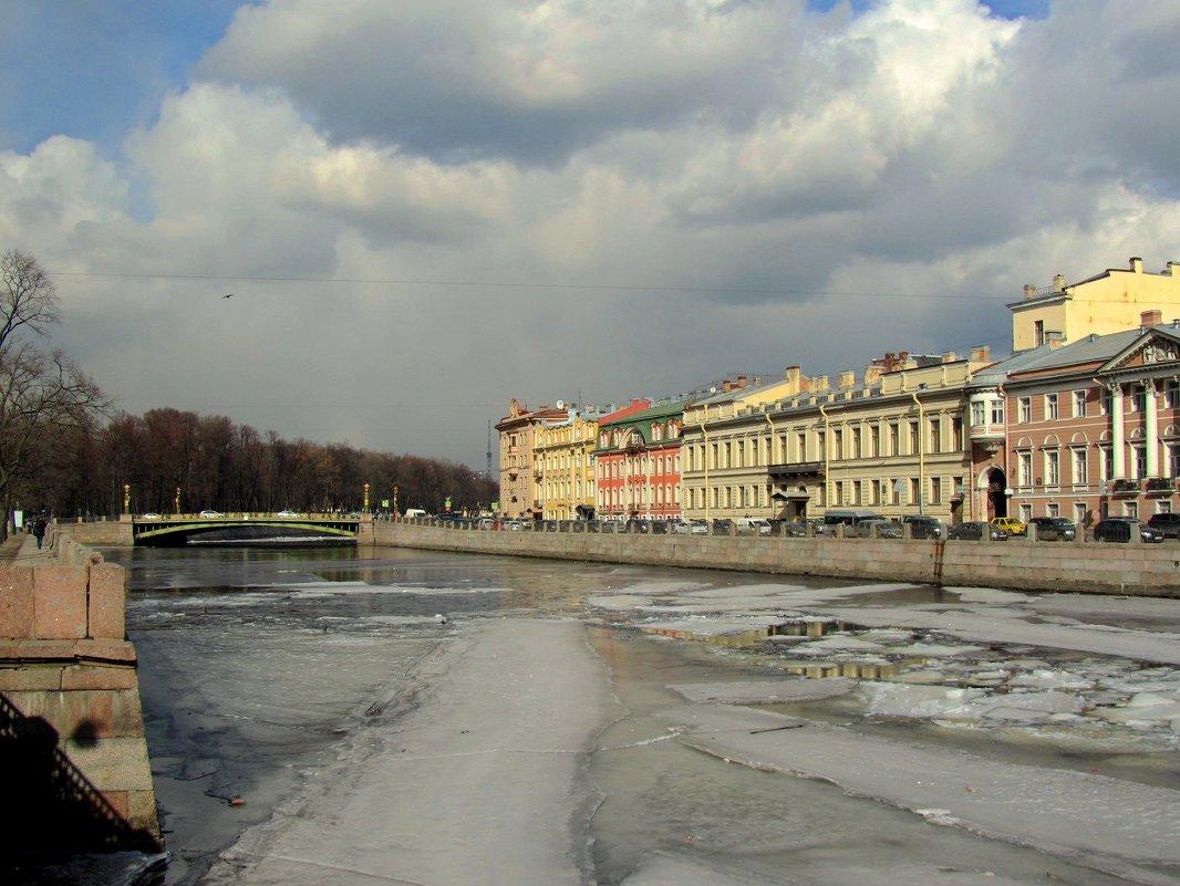 Река Фонтанка - Сергей Карачин