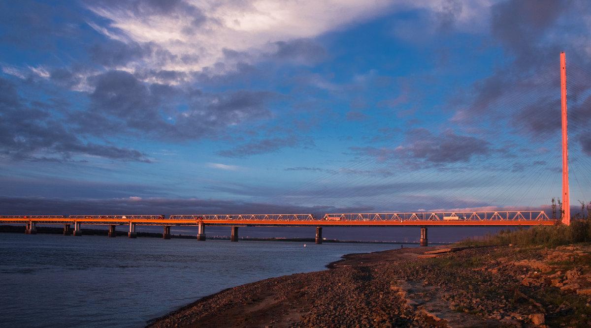 Мост через р.Обь - Николай