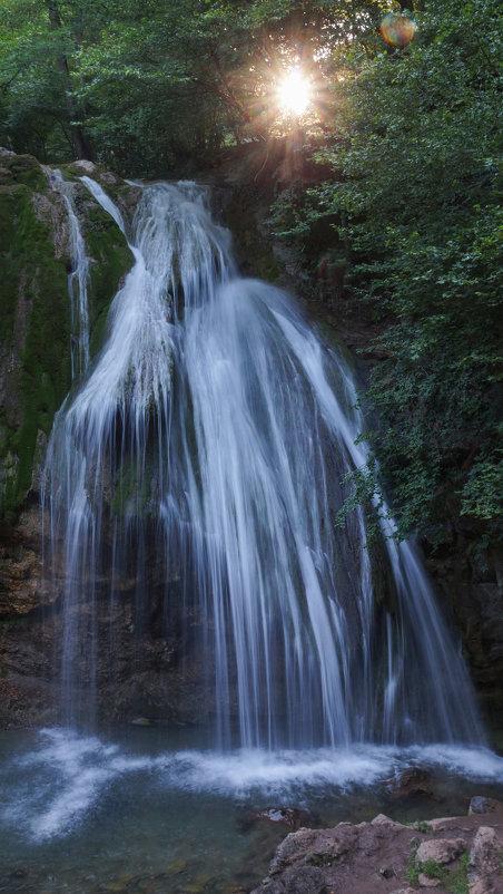 Водопад Джур-Джур на закате - Валерия заноска