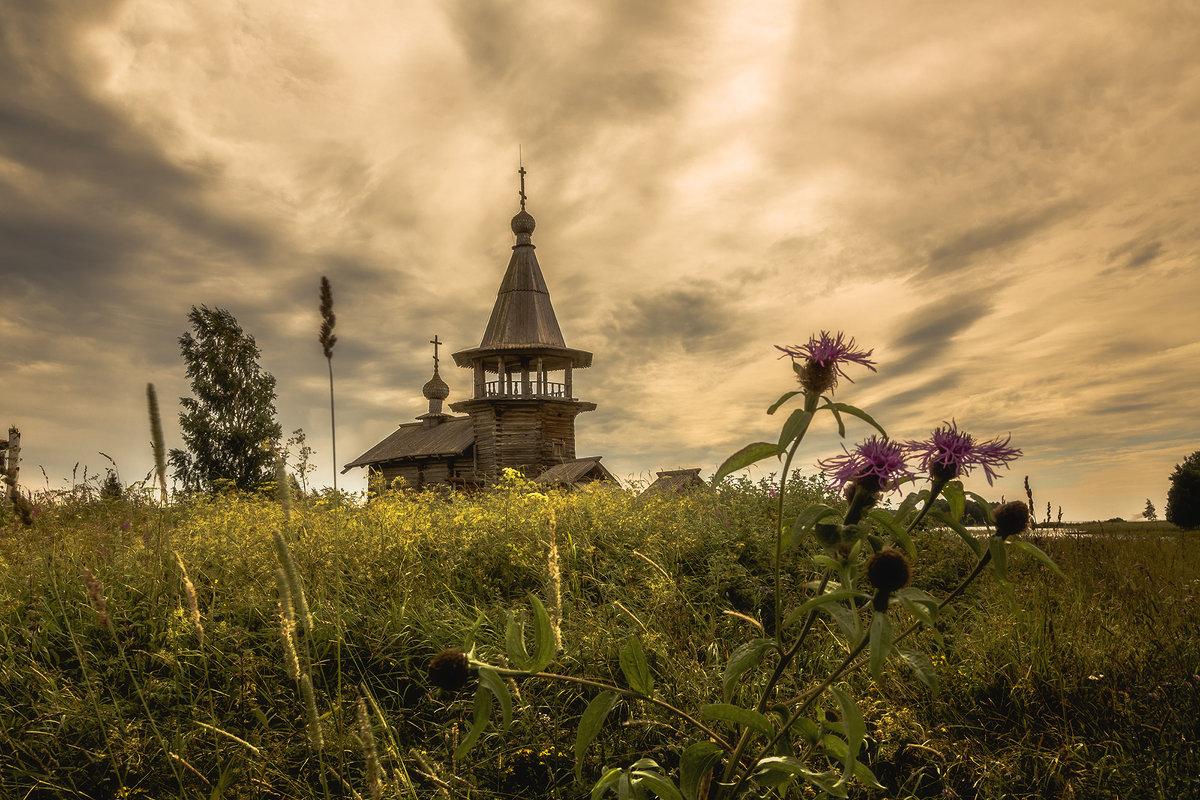 Часовня Георгия Победоносца в деревне Усть-Яндома - Алексей Калугин