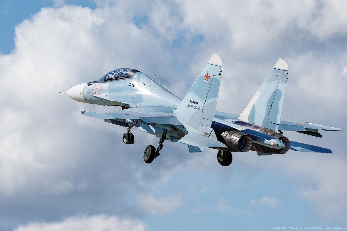 Взлет липецкого Су-30СМ - Павел Myth Буканов