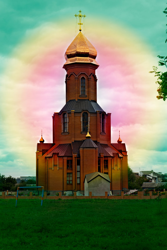 Храм Святого Георгия Победоносца - Владимир Кроливец