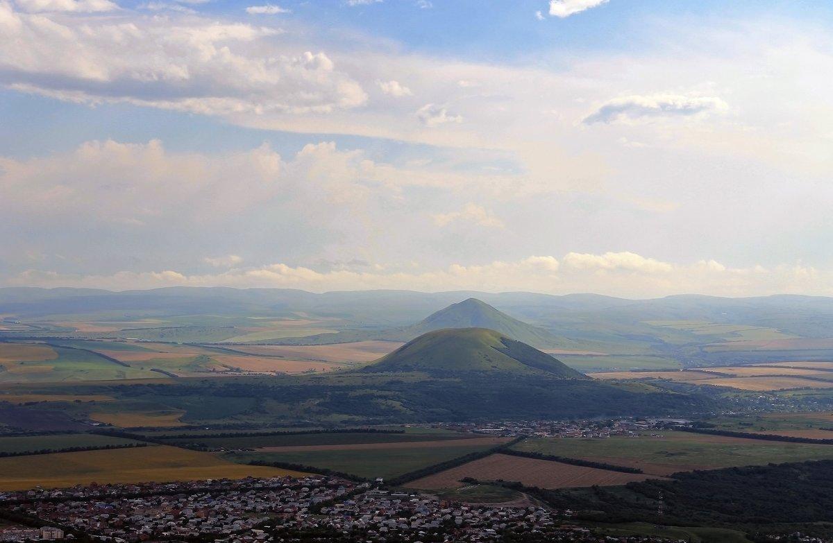 Вид с горы Машук. - Оксана Н