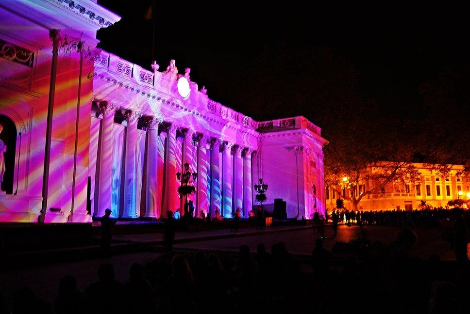 фестиваль света на Думской площади - Александр Корчемный