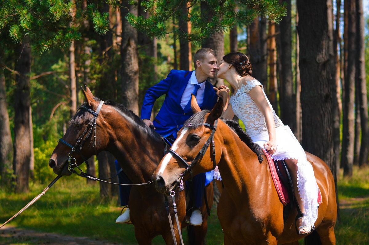 прогулка с лошадьми - Анна Удальцова