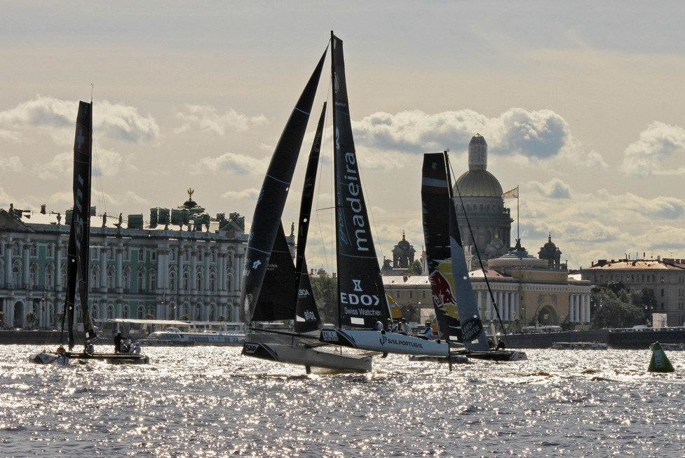Парусные гонки Extreme sailing series - Вера Моисеева