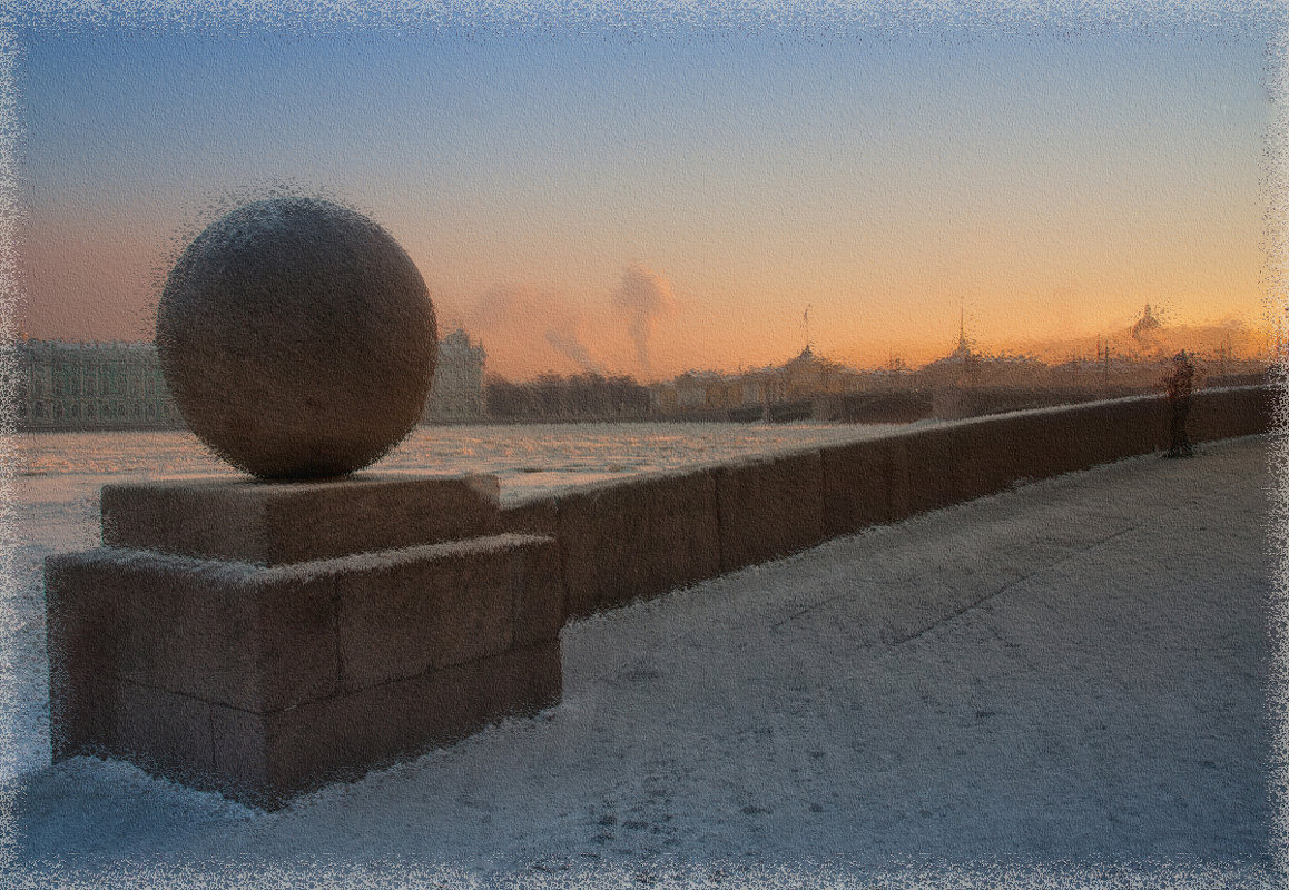Зимняя зарисовка - Татьяна Смирнова