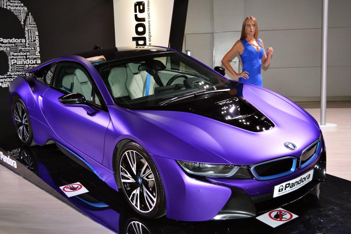 BMW i8 на стенде фирмы Pandora - Борис Русаков