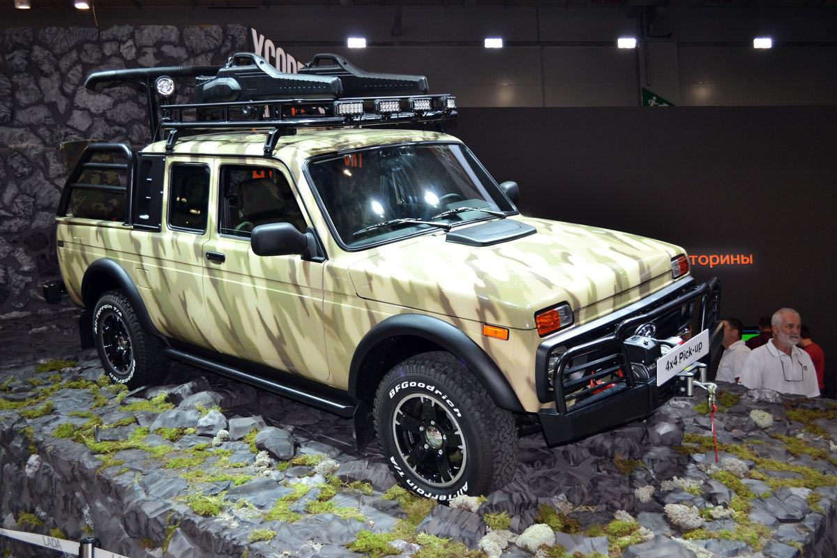 Новая LADA Pickup 4x4 - Борис Русаков