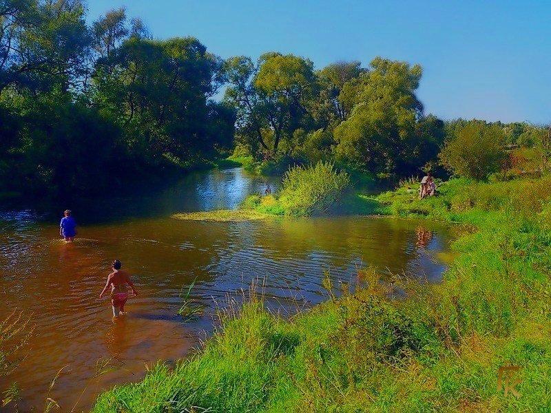 На реке Истре - Григорий Кучушев