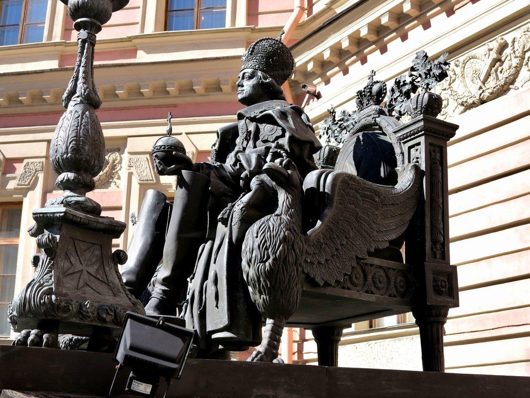 Павел Первый в Михайловском замке - Наталья