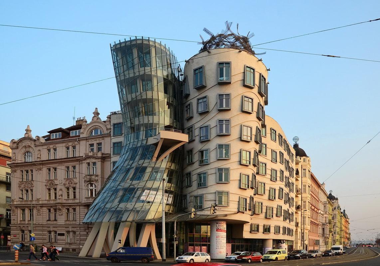 Танцующий дом, Прага - Владимир Брагилевский