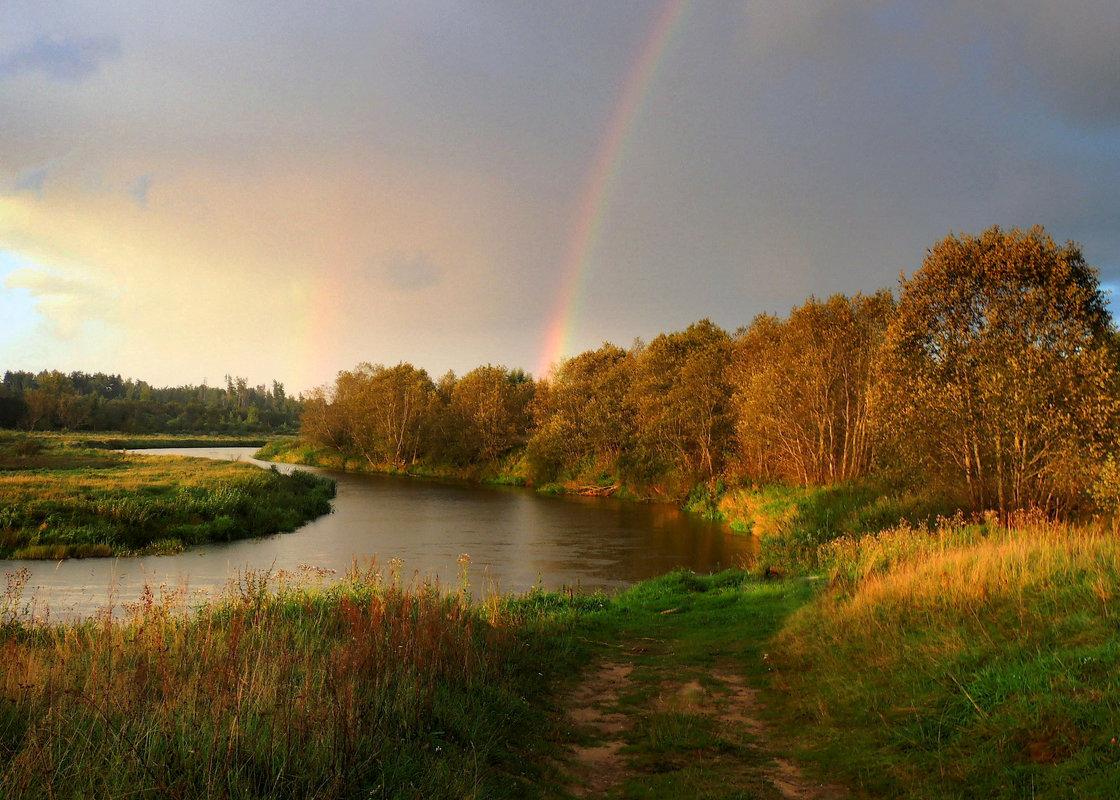 Радуга повисла над рекою - Павлова Татьяна Павлова