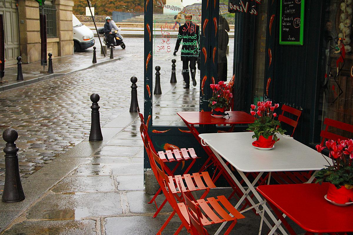 дождливое кафе - Дарья Садовникова