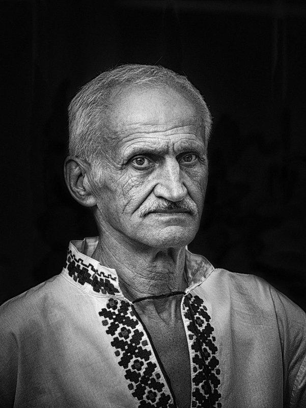 Portret BW. - Павел Петрович Тодоров