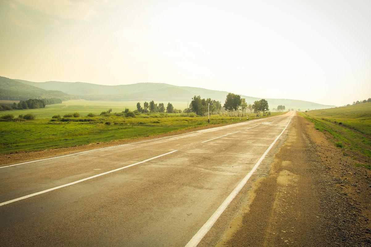 Дорога через Россию - Natalia Petrenko