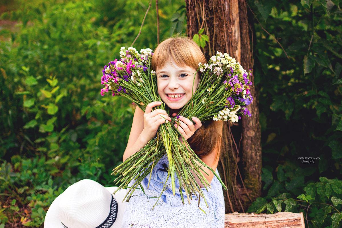 Summer flowers - Анна Ильницкая