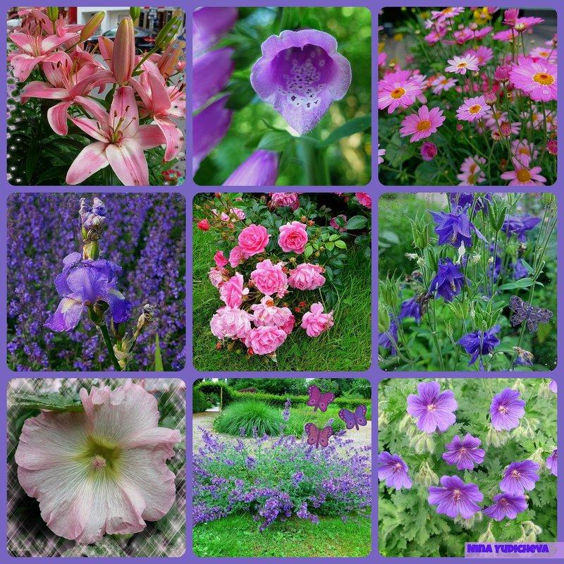 Цветы - Nina Yudicheva