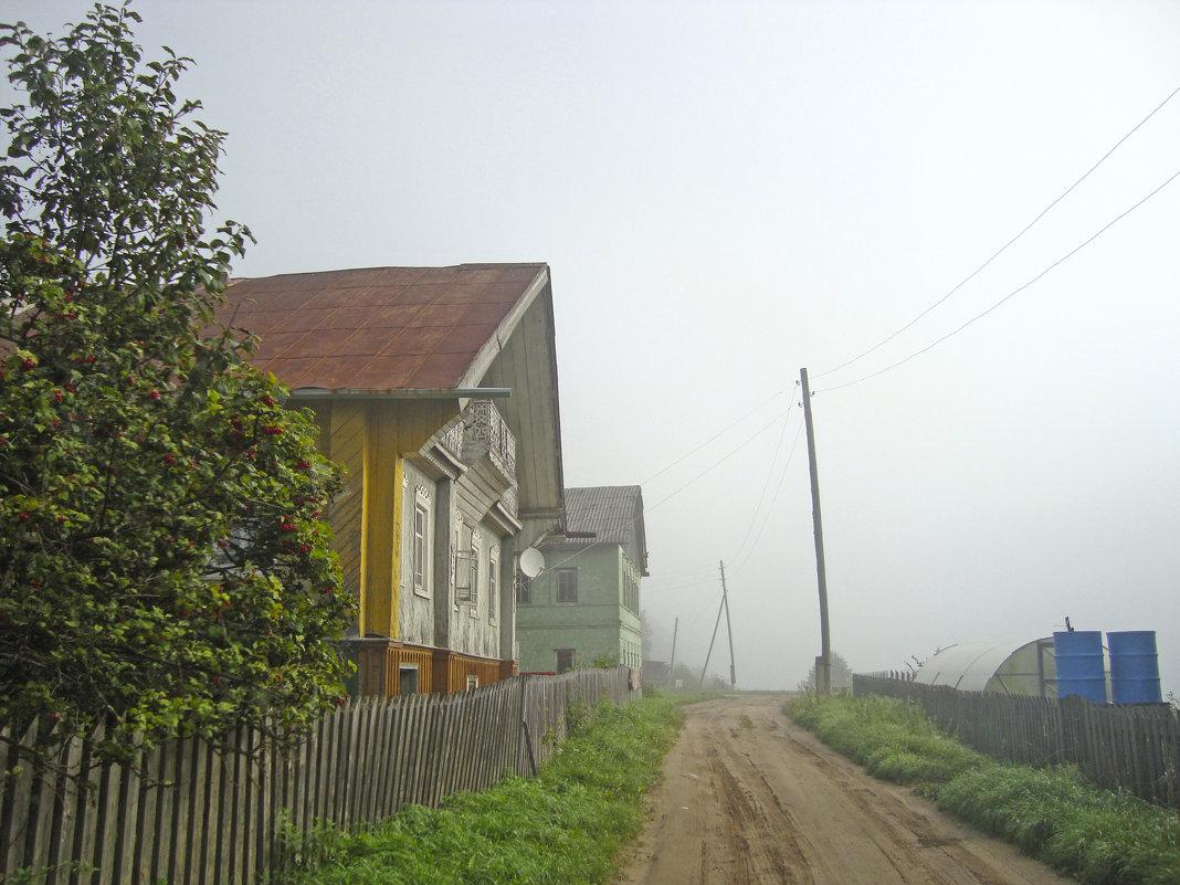 деревня в тумане - Р о м a н