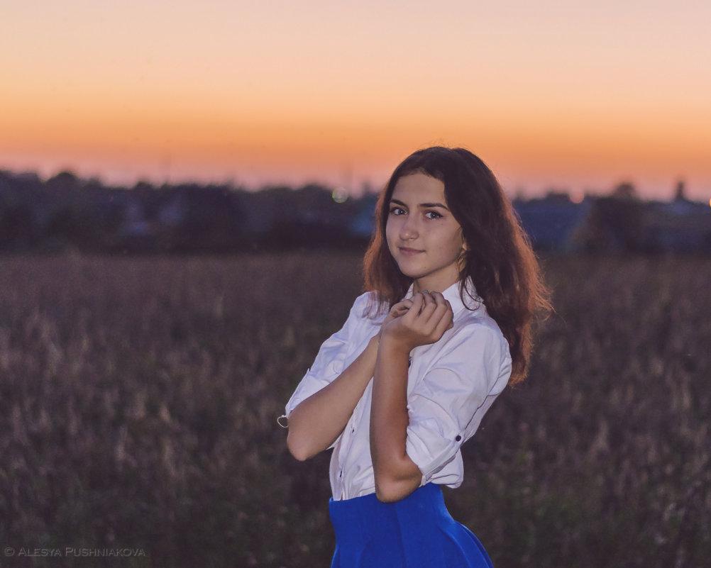 Красавица и закат - Алеся Пушнякова