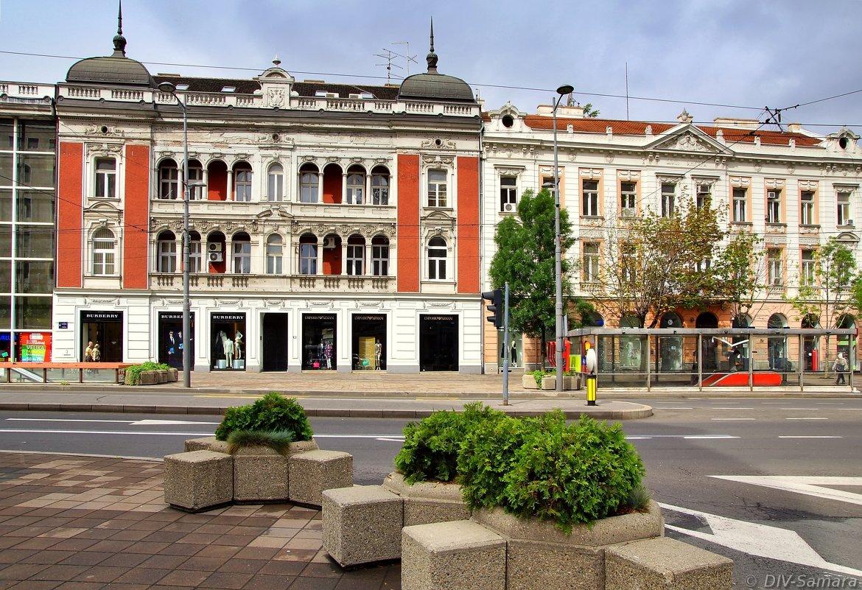 Площадь Теразие в Белграде - Денис Кораблёв