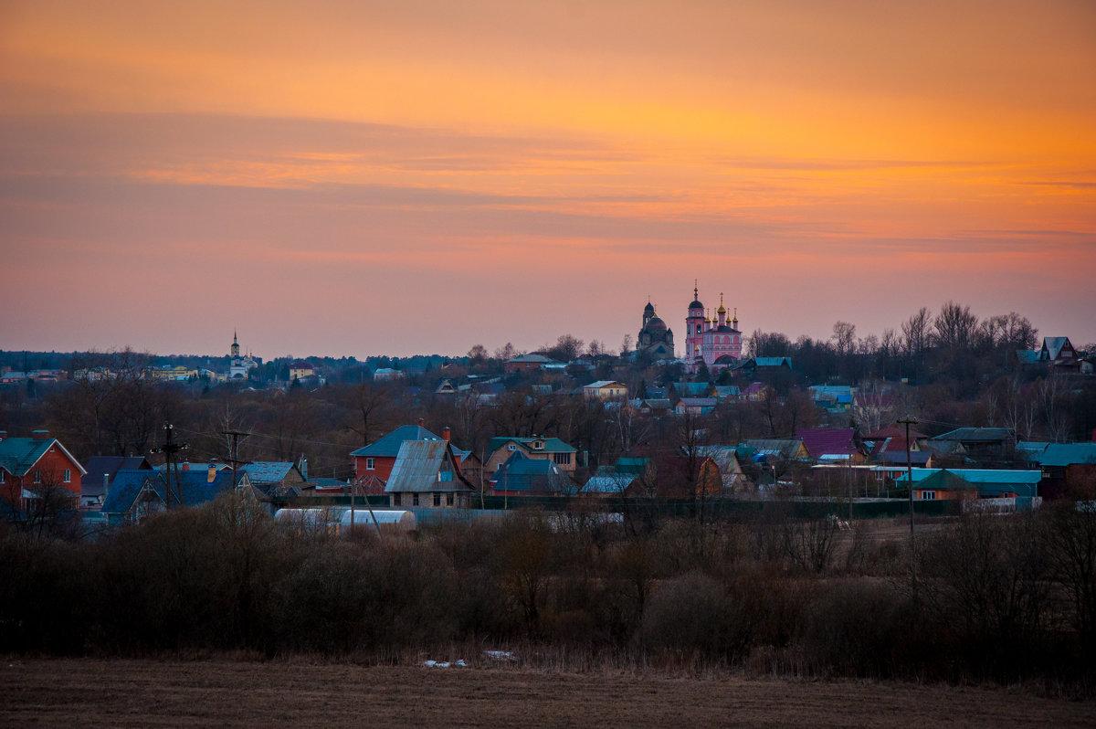 Закат в Боровске - Alexander Petrukhin