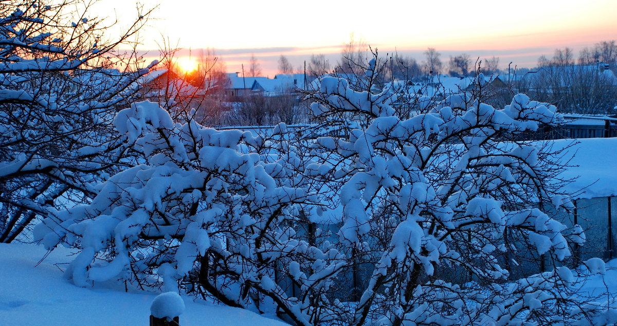 Зимним утром - Валерий Толмачев
