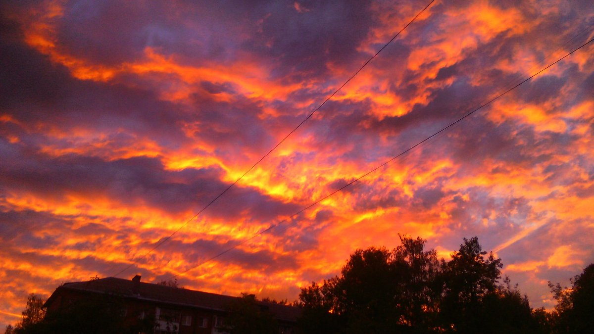 Огненные облака - Vik Fox