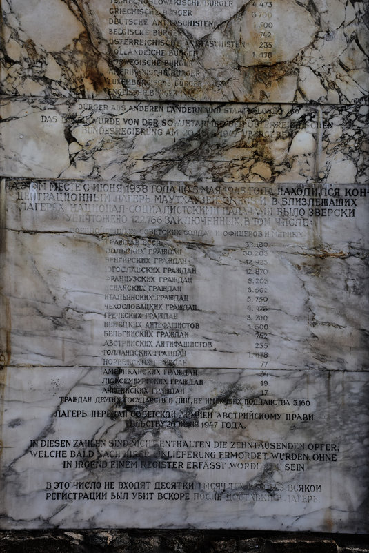 Австрия. Концлагерь Маутхаузен - Сергей Хомич