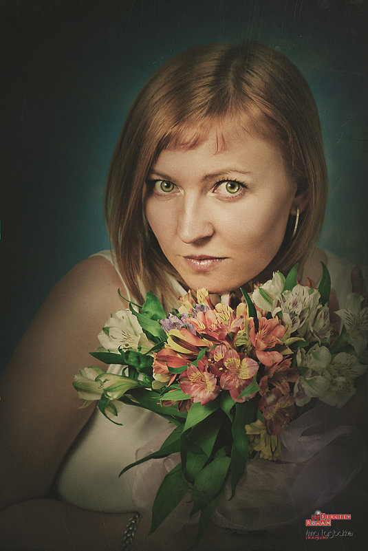 Девушка с цветами - Roman Sergeev