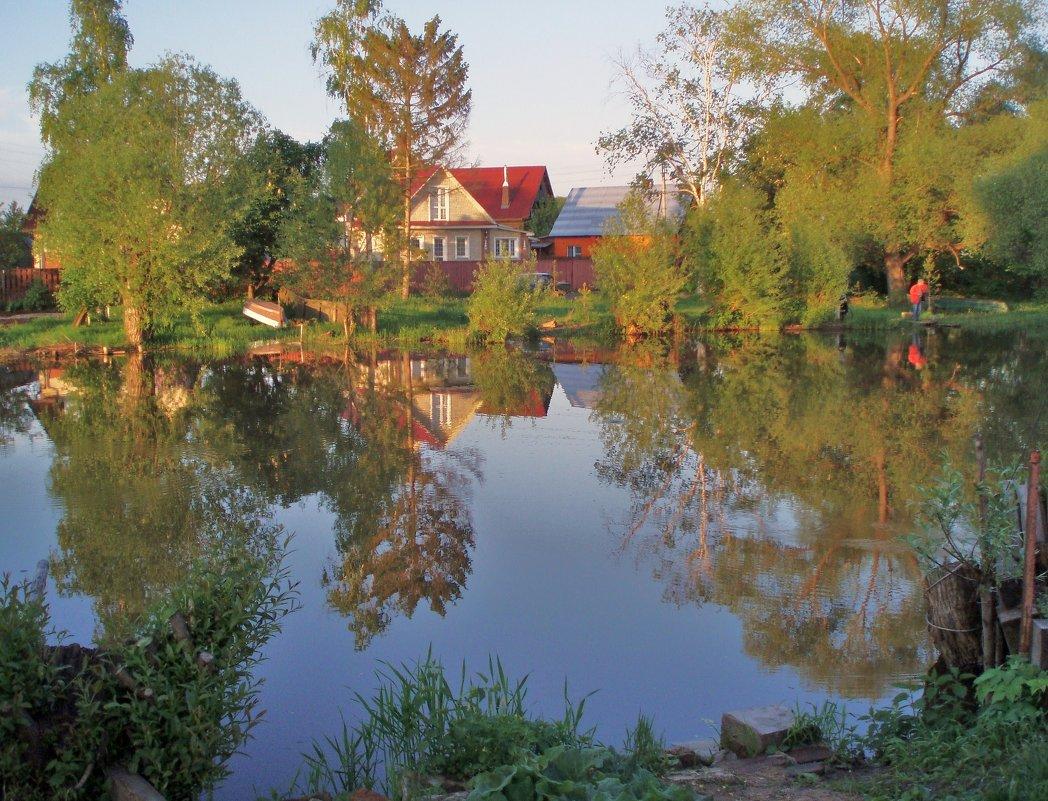 Дом на берегу реки - елена