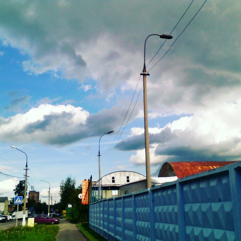 Городской будень в Люберцах. - Ольга Кривых