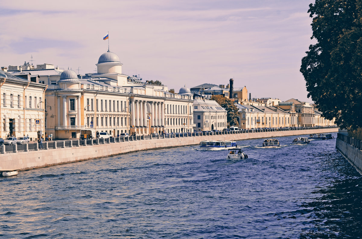 Теплый Санкт Петербург. - Валентина Потулова