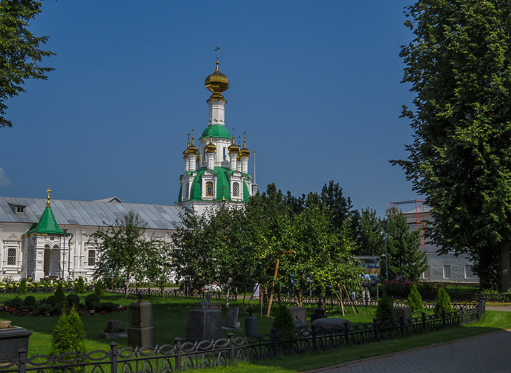 Спасская церковь - Сергей Цветков