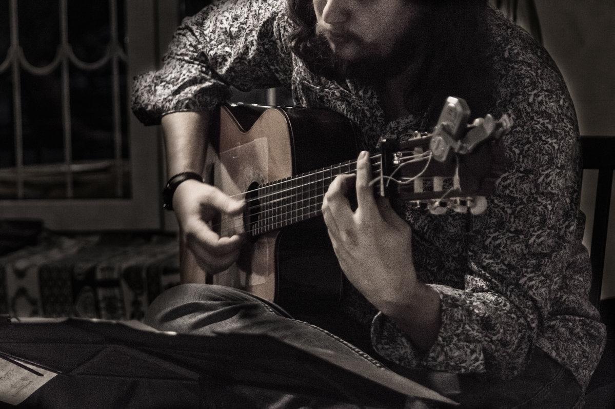 Соло на гитаре - Сергей Шруба