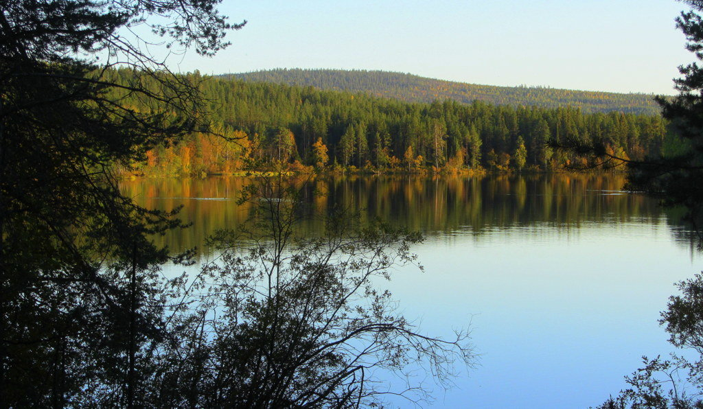 На озере осень... - Галина Полина