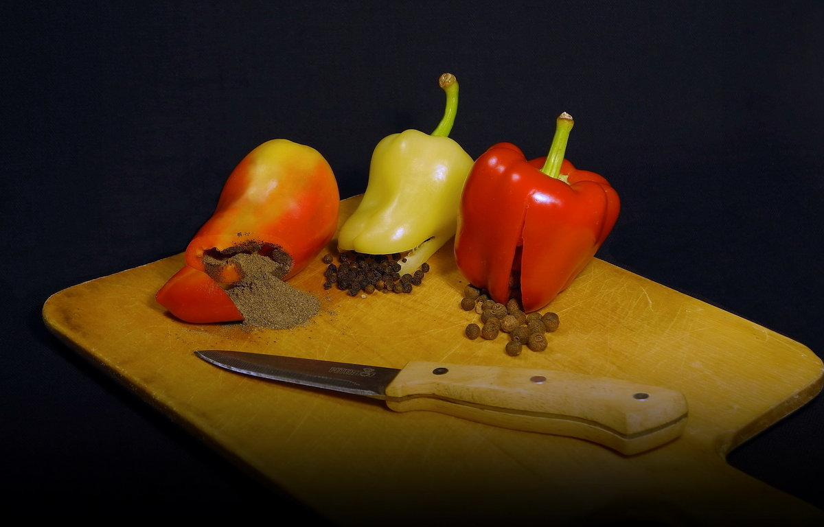 В помощь начинающим кулинарам Перец бывает разный... - Сергей Фунтовой