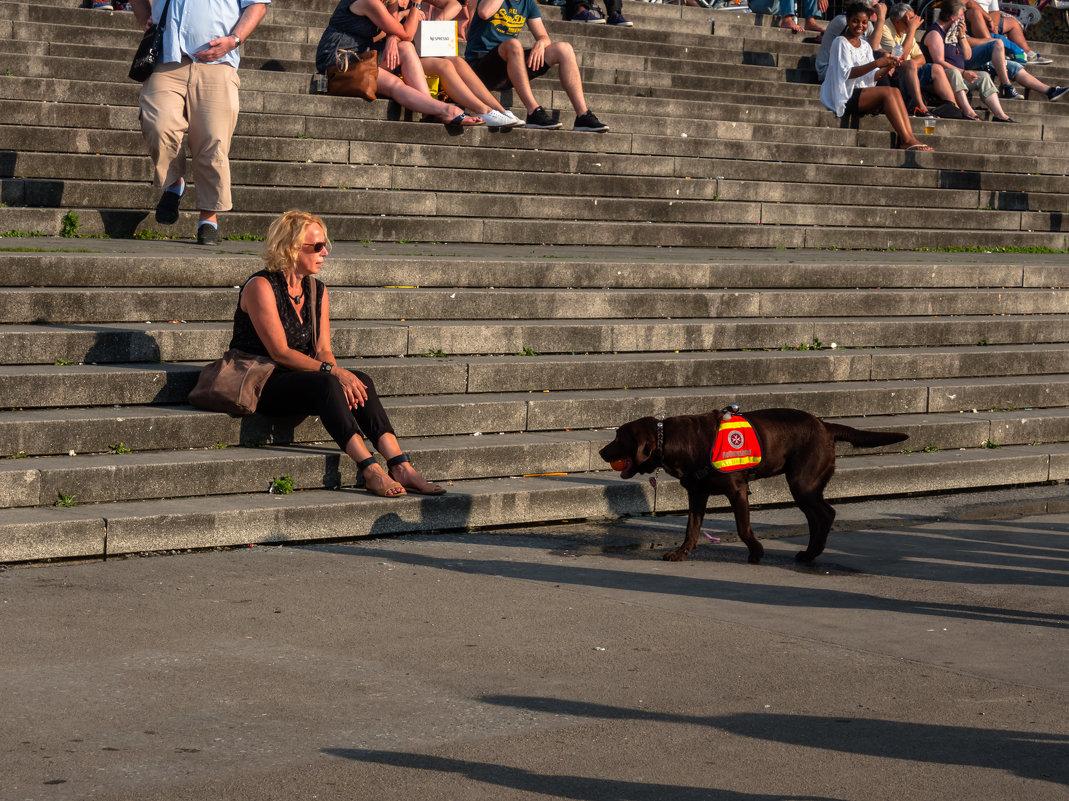 Празднование 70-летия NRW, Дама с собакой - Witalij Loewin